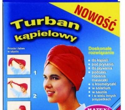 Turban kąpielowy